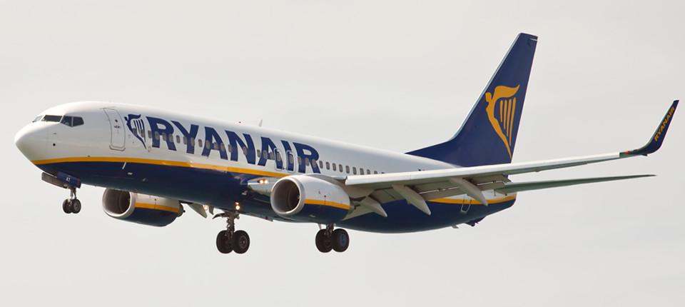Ryanair у Львові здійснюватиме 7 авіорейсів від жовтня 2017 року