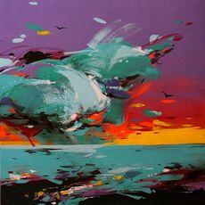 Виставка живопису Лілії Студницької landEscape