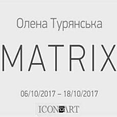 Виставка Олени Турянської MATRIX