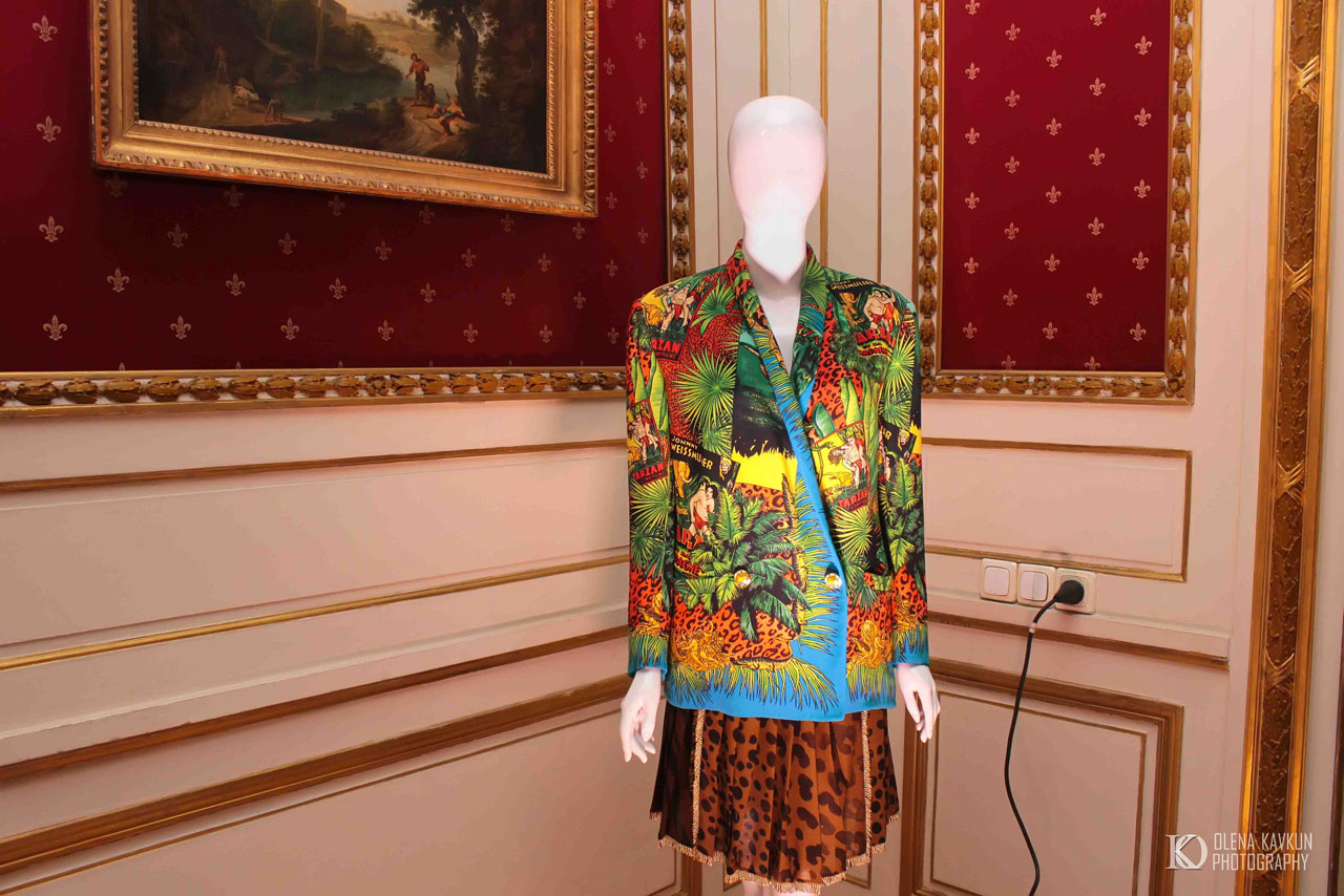 Фото з відкриття виставки Джанні Версаче. Приватна колекція Александра Стефані