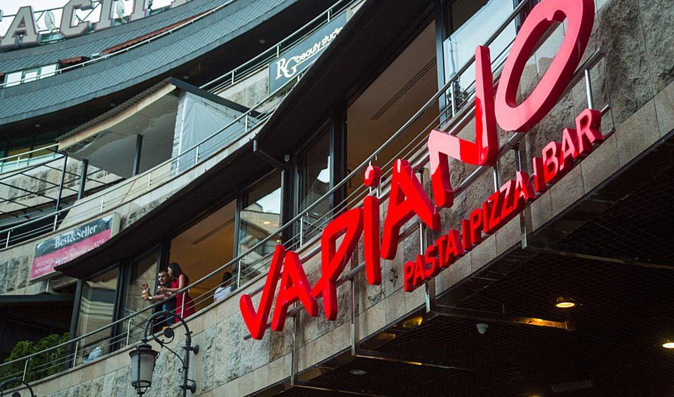 Українські ресторани Vapiano – найкращі в світі!