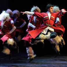 Виступ Національного балету Грузії «Сухішвілі»