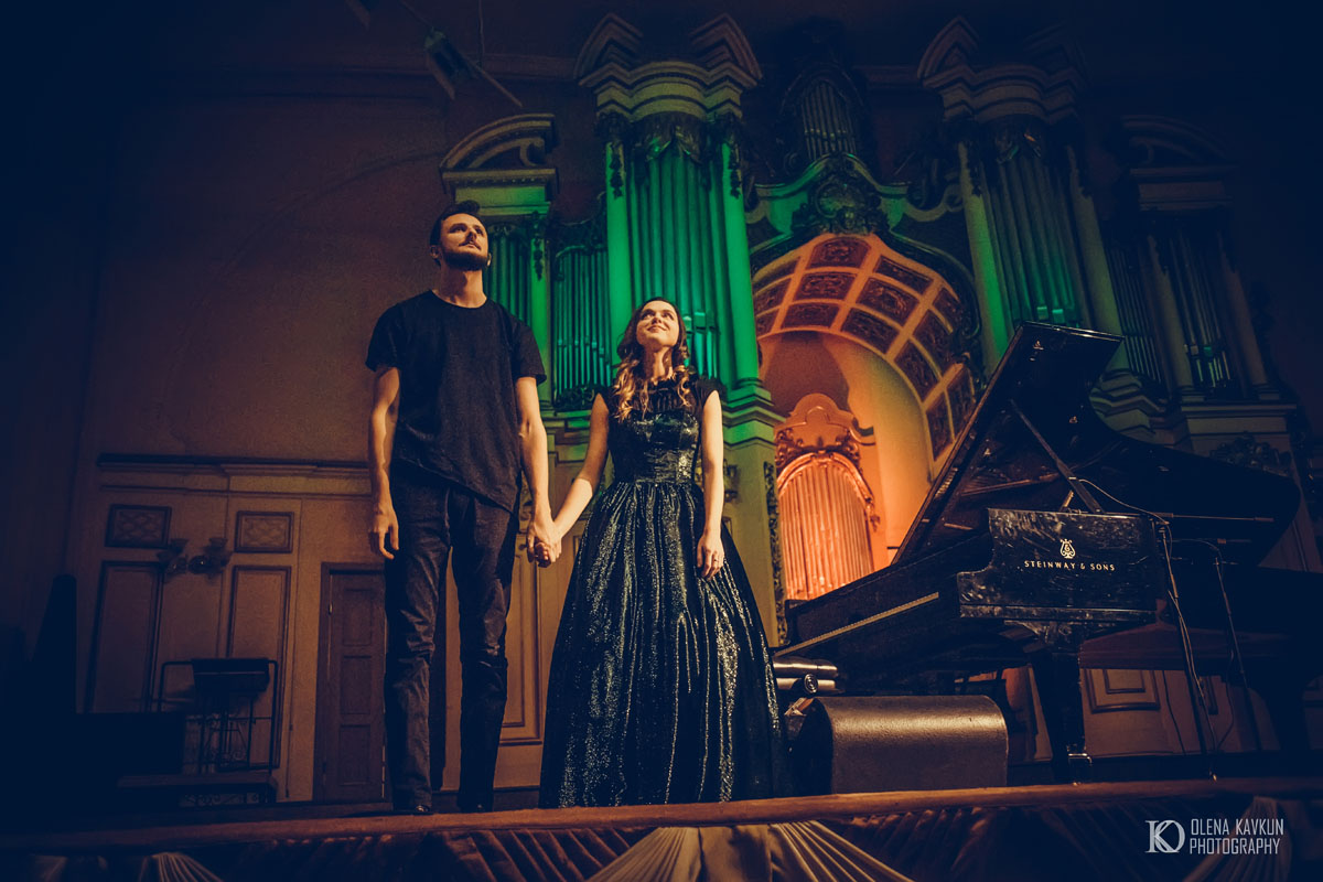 Фото з концерту Єгора Грушина
