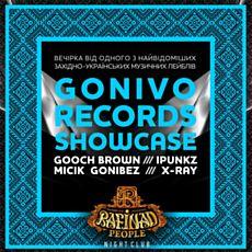 Вечірка Gonivo Records Showcase!