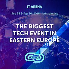 Конференція Lviv IT Arena 2018