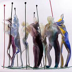 Виставка художнього скла в рамках Першої премії проф. А. Бокотея