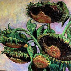 Виставка живопису Романа Патика «І знову квіти»