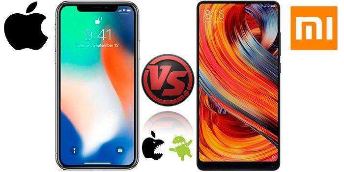 Битва iPhone X і Xiaomi Mi Mix 2S - хто переможець?
