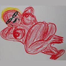 Виставка малюнків Олега Гердія «Роро, ффф і зу»