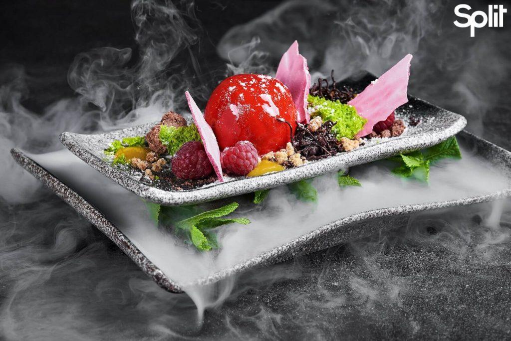 Асорті вишуканих закусок | Ф'южн-ресторан клубу Split