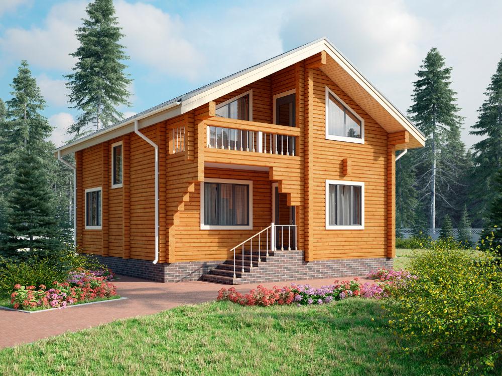 За який термін реально побудувати будинок із брусу