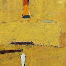 Виставка абстрактного живопису Сергія Декалюка «Колір великої форми»