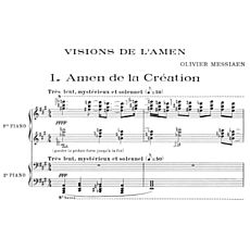 Концерт Messiaen. Visions de l'Amen