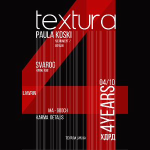 Вечірка Textura 4 Years :: Paula Koski