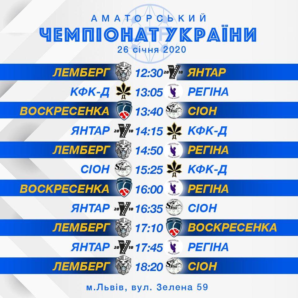 Аматорський Чемпіонат України з флорболу