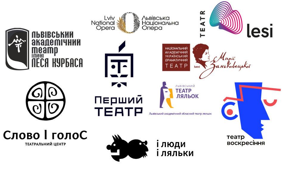 Репертуари театрів та анонси театральних вистав у Львові