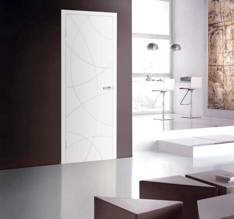 Двері в стилі «хай-тек»