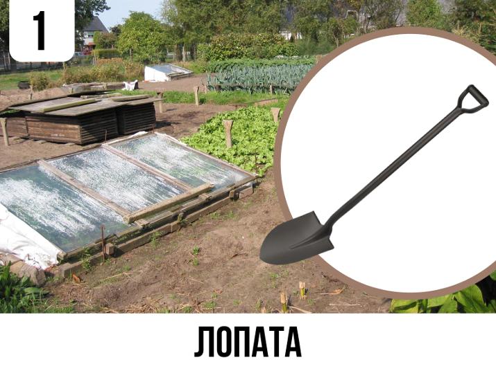 Лопата - вічний і незамінний інструмент для городу