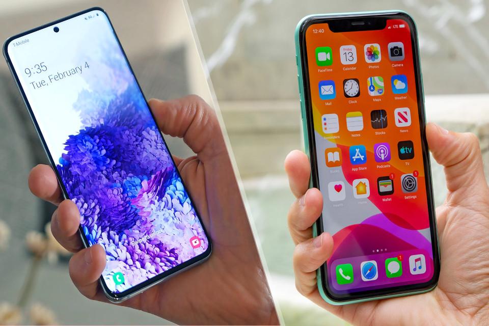 Що краще: 11 iPhone або Samsung Galaxy S20